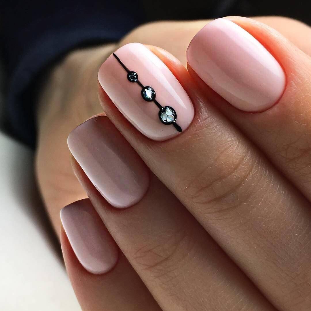 Картинки нежного маникюра на ногтях