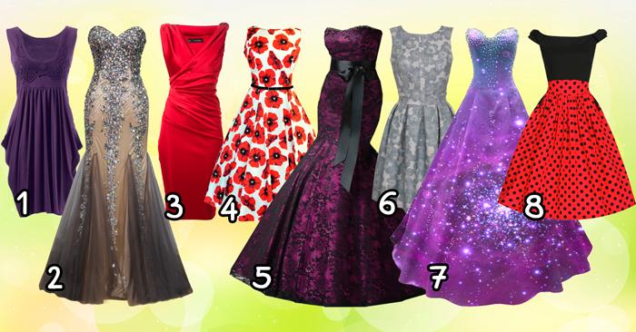 Выберите платье и узнайте, какой этап жизни вам предстоит пройти