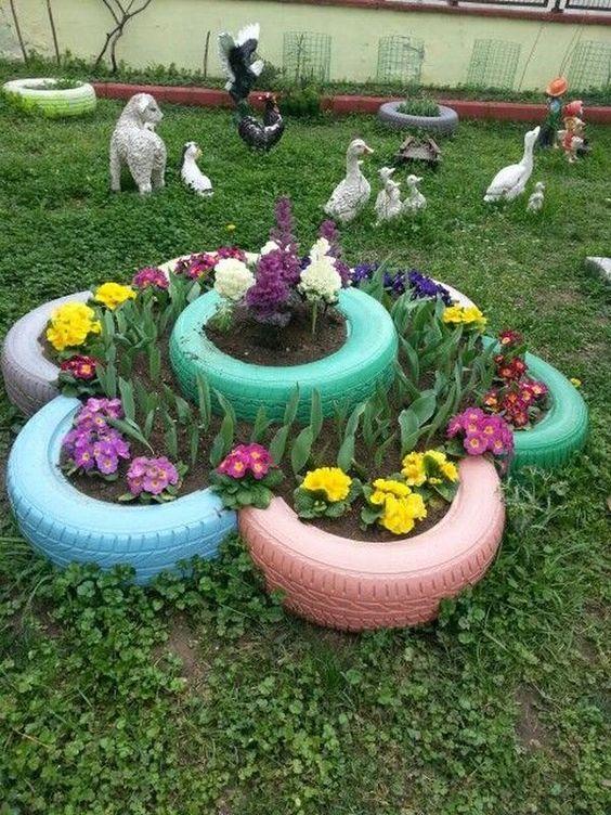картинки для украшения двора достаточно
