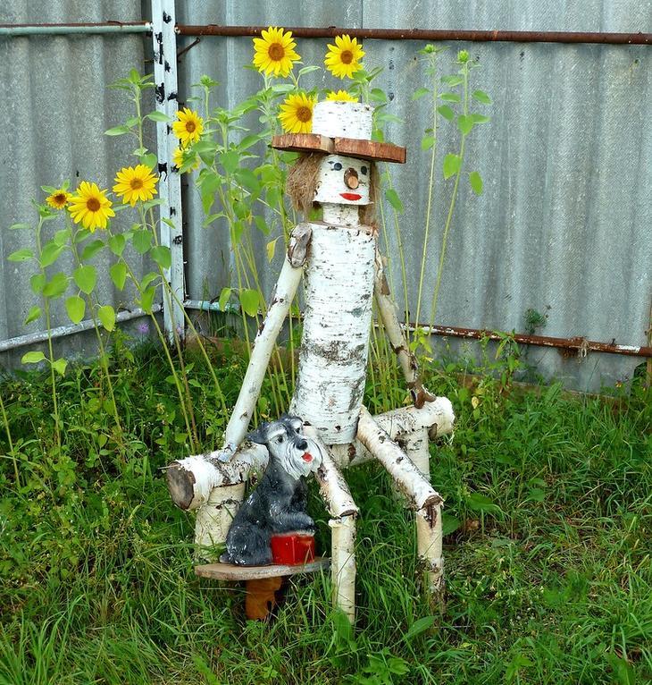 30+ особенно уютных и оригинальных идей декора для Вашей дачи и сада