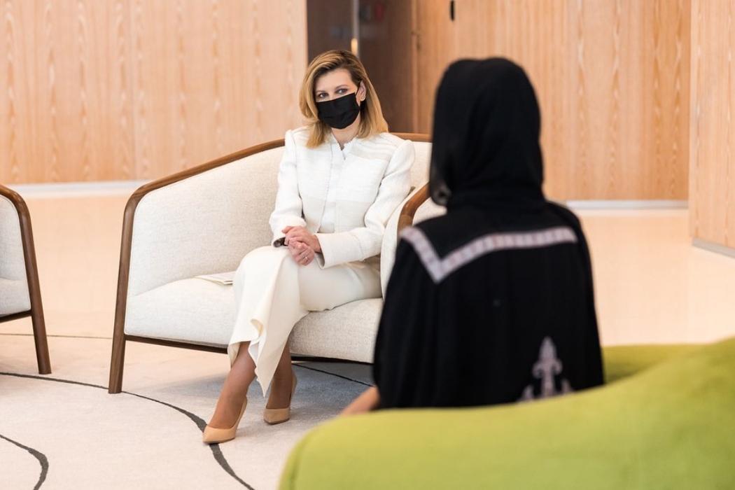 Елена Зеленская становится иконой стиля! Новый изысканный образ в Катаре покорил поклонников Первой Леди Украины